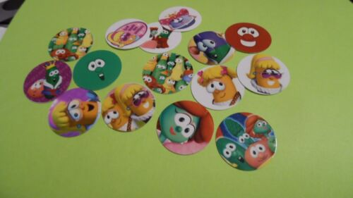 FREE SHIP Pre Cut One Inch Cartoon Bottle Cap Images