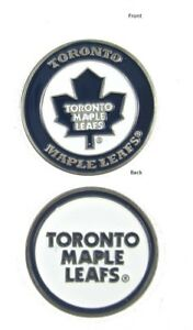 c6d892e3ab4 NHL Toronto Maple Leafs Golf Ball Marker Enamel Metal Team Logo 2 ...