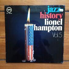 "Lionel Hampton - Jazz History Vol. 5 - 2 x 12"" LP Vinyl Schallplatte Record"