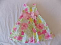 Girl's Gymboree Easter Pink Flower Dress 18-24 Months 2t 3t