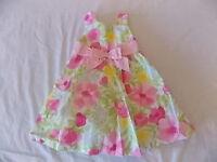 Girl's Gymboree Easter Pink Flower Dress 18-24 Months 2t 3t