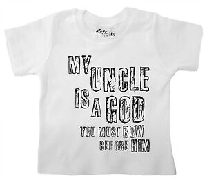 Funny Uncle T Shirt Quot My Uncle Is A God Bow Before Him