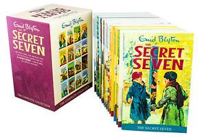 The-Secret-Seven-16-Books-Children-Collection-Box-Set-Paperback-By-Enid-Blyton