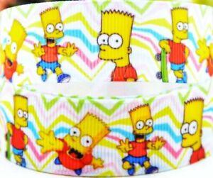 "7//8/"" 2 YARDS Bob/'s Burgers Grosgrain Ribbon Gift Wrap Bows Lanyards Cards Crafts"