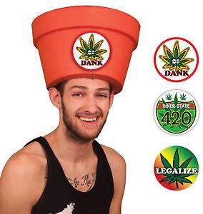 Image is loading Simple-Halloween-Costumes-for-Men-Legalize-Marijuana-Pot-  sc 1 st  eBay & Simple Halloween Costumes for Men Legalize Marijuana Pot Head Hat ...