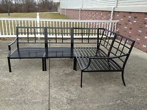 Pottery Barn Riviera Outdoor Sectional Sofa Frame Bronze