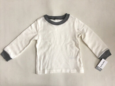 Ralph Lauren Infant Boys Graphic Long Sleeve Crewneck Tee T-Shirt Size 3M To 24M