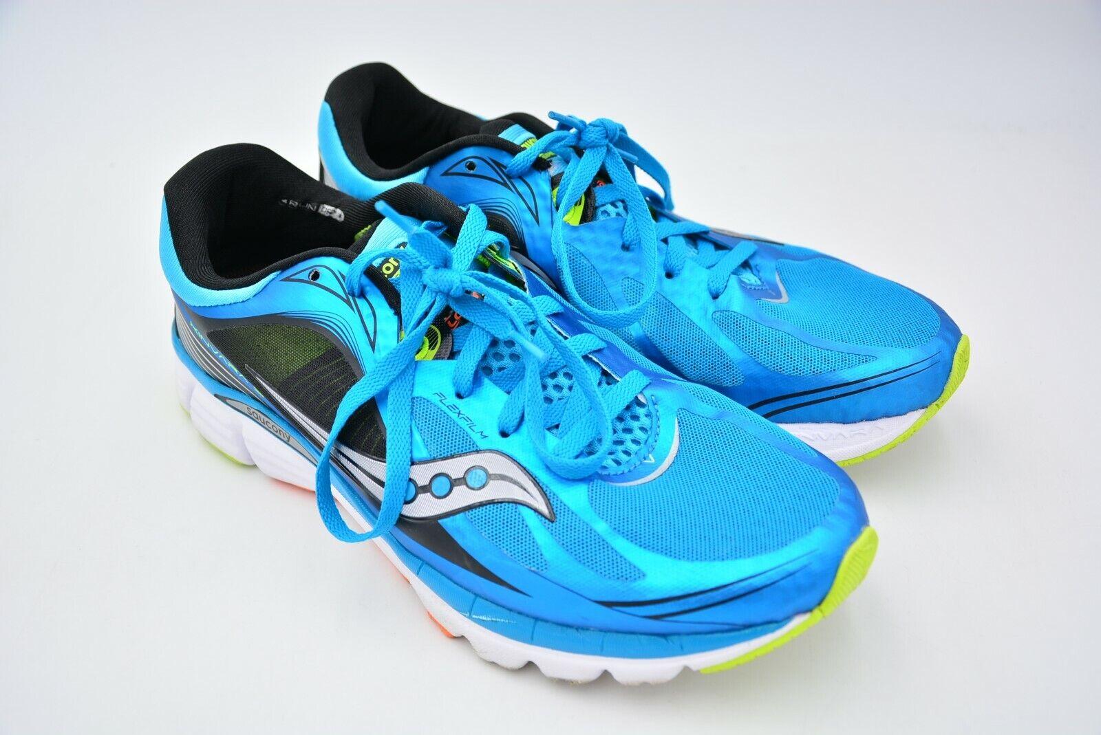 Saucony Kinvara 5 Zapato De Correr Hombre Azul Negro Citron tamaño nos 10.5 Usado