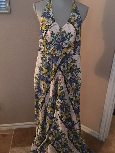 ANTHROPOLOGIE MAXI DRESS NWOT 2 4