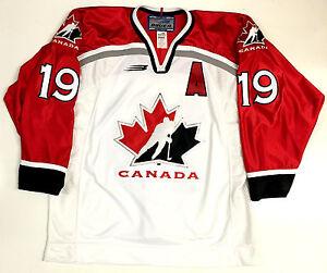 83fb54cc681 STEVE YZERMAN 1998 NAGANO OLYMPICS GOLD TEAM CANADA AUTHENTIC BAUER ...
