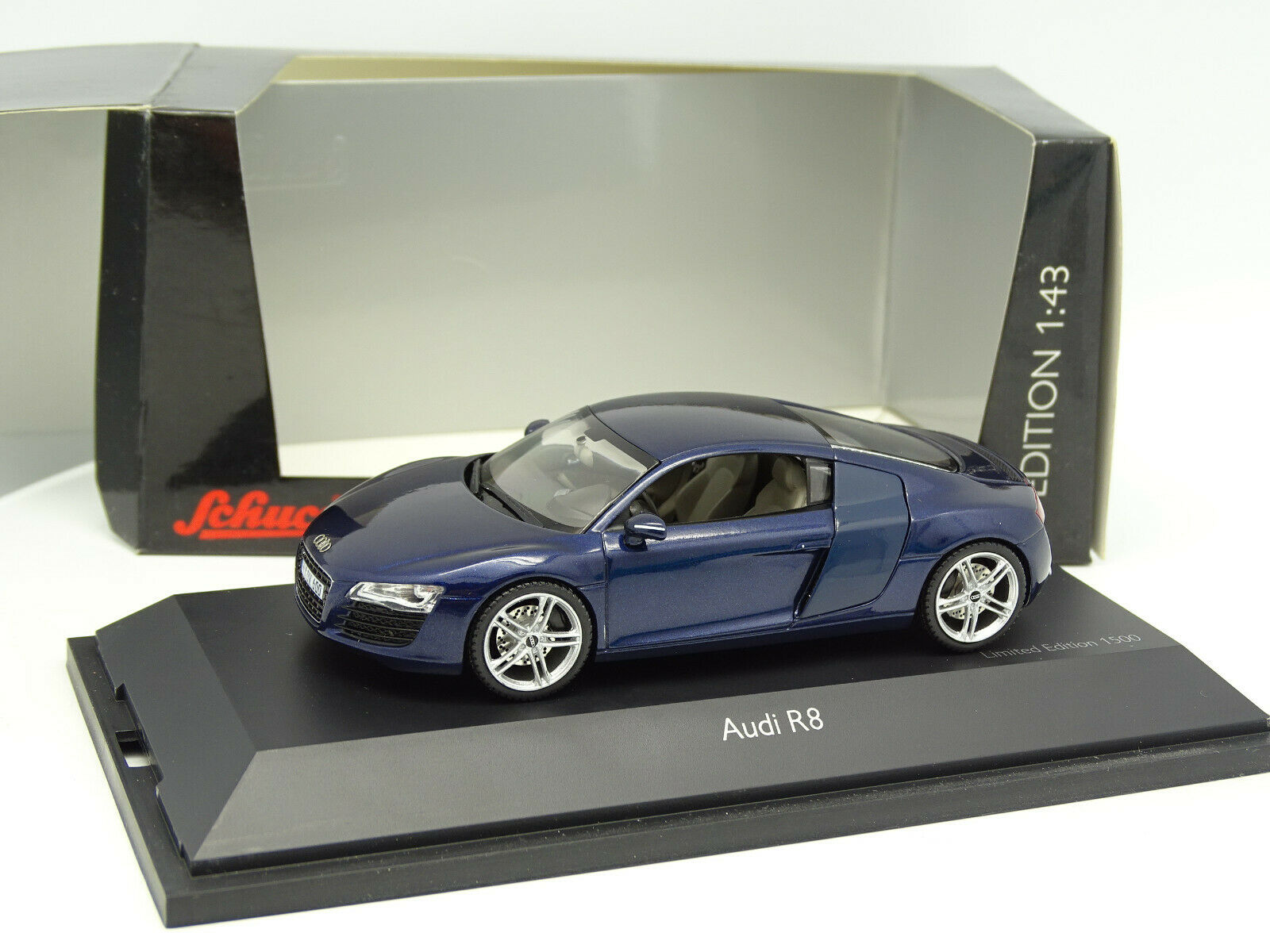 Schuco 1 43 - Audi R8 Azul