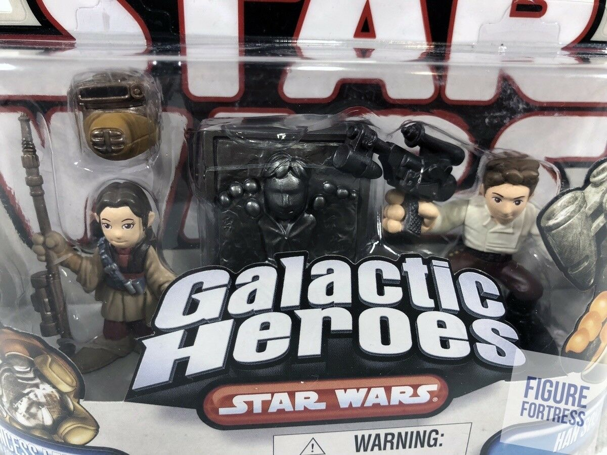 Star Wars Galactic Heroes Wave 13 13 13  RETURN OF THE JEDI & MORE  Carded Figures 648823