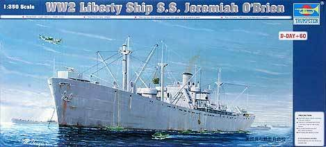 Trumpeter 1 350 SS Jeremiah O'Brien WWII Liberty Ship