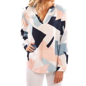 Chiffon-Women-Blouse-Casual-Shirt-Long-Sleeve-V-Neck-Loose-Women-Blouses-Shirts