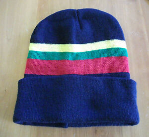 32a4967b365 Image is loading ROYAL-MARINES-CORPS-COLOURS-MACHINE-KNITTED-BEANIE