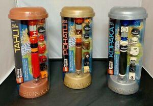 LEGO-Bionicles-Buildable-Pens-2001-Pohatu-Kopaka-Tahu