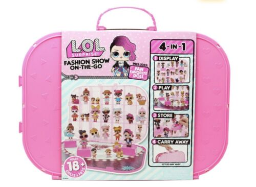 1 LOL Surprise FASHION SHOW ON THE GO CASE Storage PLAYSET DOLL  2 3 5 6 Lol