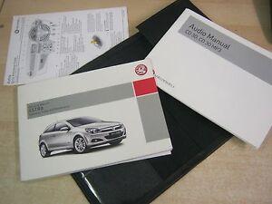 vauxhall astra owners manual handbook 2004 2010 audio cd ebay rh ebay co uk Chevrolet Astra 2004 2004 opel astra owner's manual