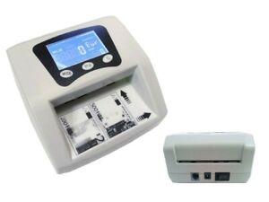 Detector-Cuenta-Billetes-Falso-UV-Euro-Money-Compruebe-Verificacion-Dinero