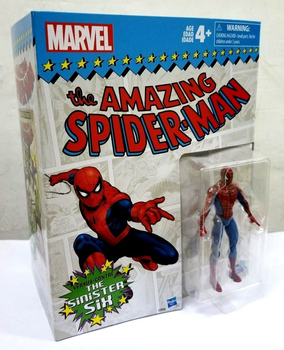 MARVEL LEGENDS 3.75 EXCLUSIVE SPIDER-MAN SPIDER-MAN SPIDER-MAN vs THE SINISTER SIX BOX SET f73ef4
