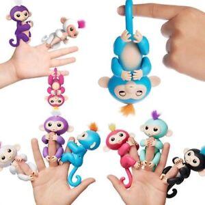 Electronic-Smart-Interactivo-Happy-Baby-Monkey-Juguetes-Dedo-Titeres-Ninos-del-animal-domestico