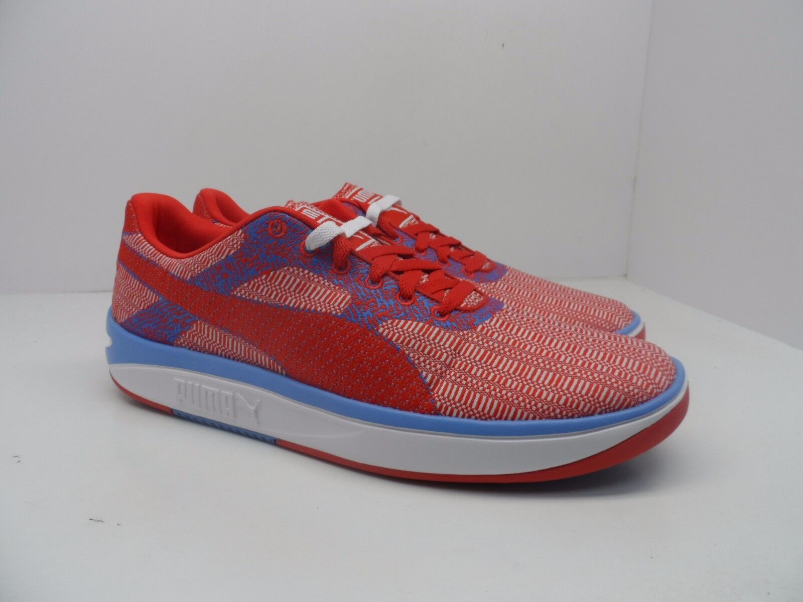 3545e9b73 Puma Men's GV 500 Mesh Athletic shoes High Risk Red Marina bluee Size 12M  Woven nobfvq6142-Men's Trainers