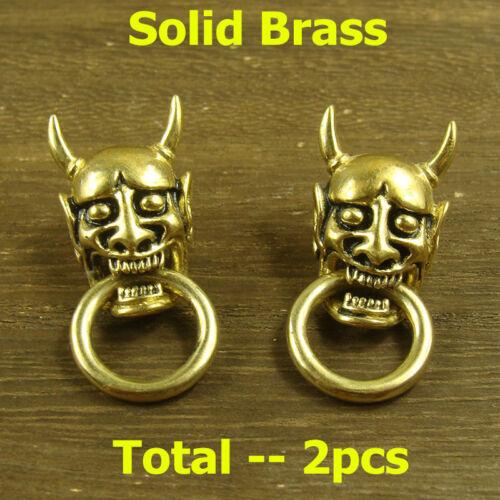 2pcs Solid Brass Rivet Stud Punk Screw Wallet Bag Conchos  Leathercraft
