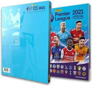 New Panini Premier League 2021 Sticker Collectio Hardback Album Available Now Ebay
