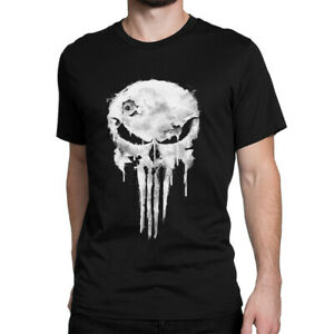 50de878cac612 Image is loading Punisher-Skull-Graphic-T-Shirt-Premium-Cotton-Marvel-