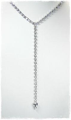 Fornito Nuovo 30cm+14cm Collier 4mm Strass Cristallo Chiaro/chiaro Collana Strass Collier-lar Halskette Strasscollier It-it Mostra Il Titolo Originale Vari Stili
