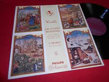 FELIX AYO violin I MUSICI VIVALDI Four Seasons LP 195? Philips A00301 SPAIN RARE