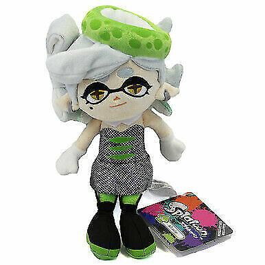 "10/"" Marie Green Squid Sister  Plush Doll REAL Little Buddy  1470 Splatoon"