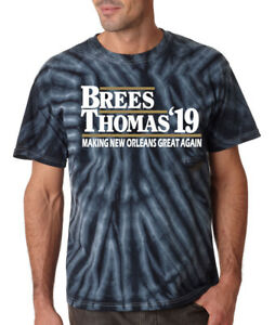 Details About Tie Dye Drew Brees Michael Thomas New Orleans Saints New Orleans Great T Shirt