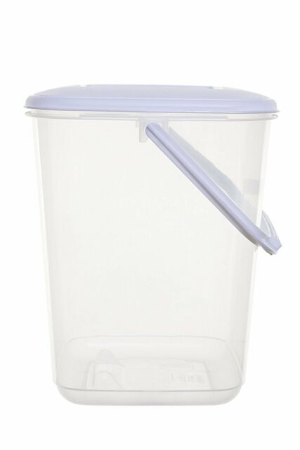 Large 10 Litre Food Plastic Storage Container Air Tight Lid Handle