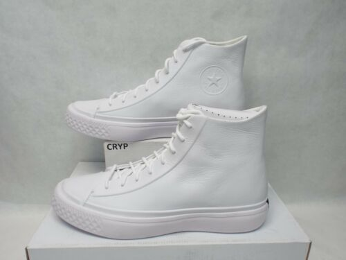 11 nuove da pelle Scarpe bianca Modern Converse Ctas in uomo 157199c140eac5d28c1f1511d513db14f24eb56870 Hi A53RL4jq