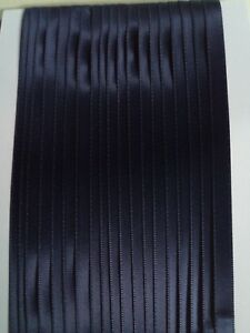 5M 6mm Thin Black Satin Ribbon Trim Card Making Scrapbooking Home Decor Craft