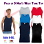 5-PACK-Fruit-of-the-Loom-Men-039-s-Value-weight-Athletic-Vest-Tops-Summer-Vests-T thumbnail 1