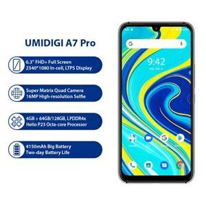 """Umidigi a7 Pro 4 Kamera Andriod 10 FHD 6.3"""" Screen 64gb/128gb ROM ddr4 Octa Core"""