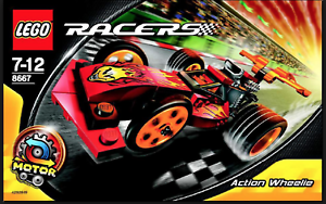 LEGO Racers Power Action Wheeler (8667)