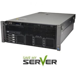 Dell-PowerEdge-R910-Server-4x-2-66GHz-X7542-24-Cores-128GB-RAM-H700-2x-1TB-HDD
