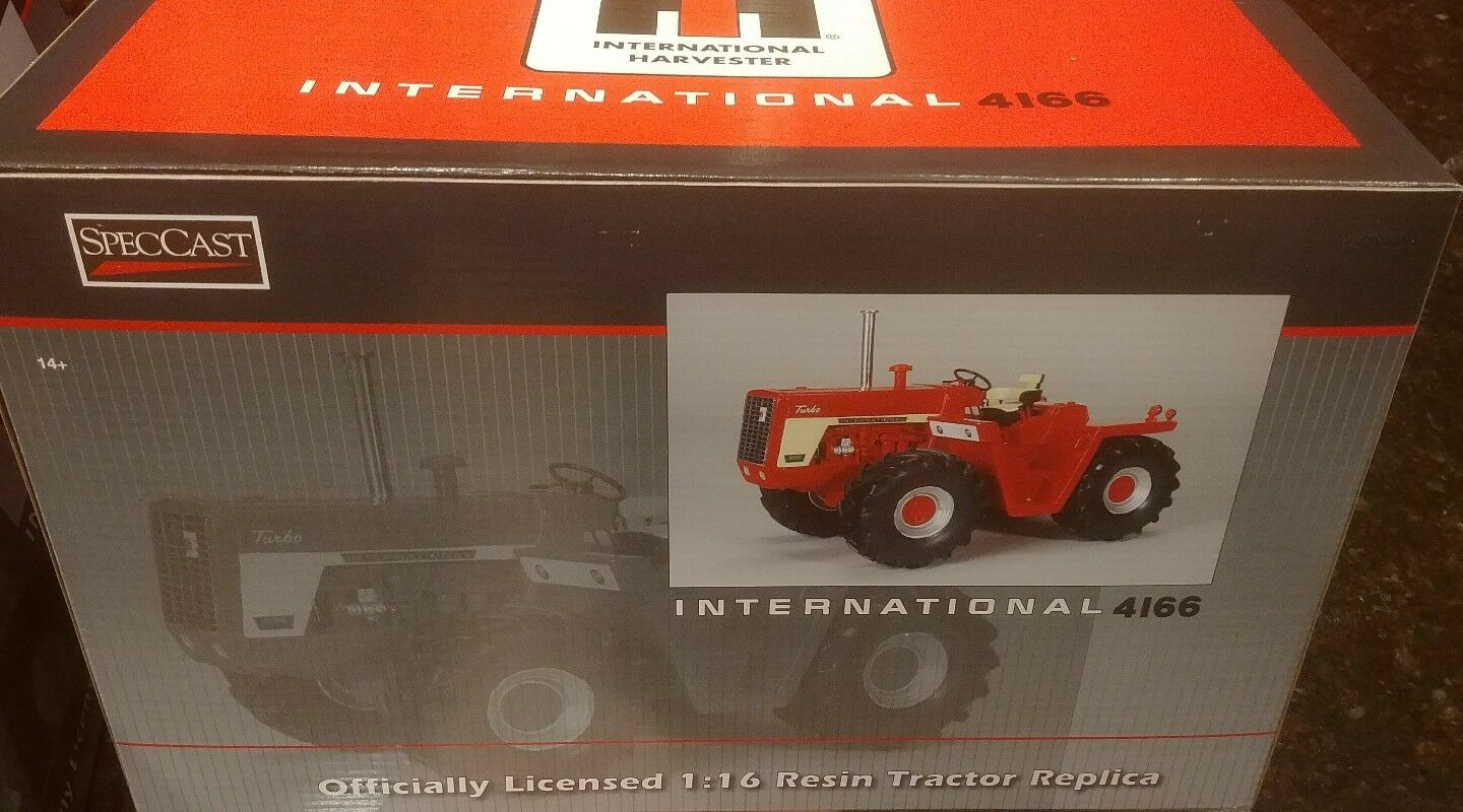 1/16 IH International Harvester 4166 4wd tractor w/ no cab, Spec Cast CLEARANCE!