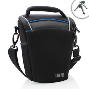 USA-Gear-Portable-Top-Loading-dSLR-Camera-Bag-for-Nikon-Digital-Cameras
