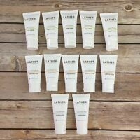 12 Lather Modern Apothecary Travel Size Moisturizer Shampoo Conditioner