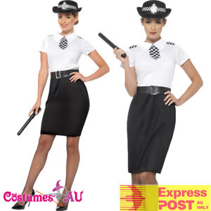 Ladies-British-Police-Woman-Costume-Traditional-Officer-Uniform-Cops-Fancy-Dress