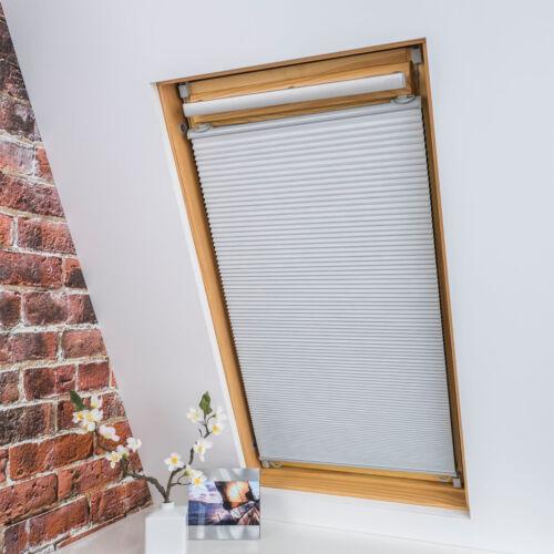 Universal Dachfenster Plissee Rollo Dachflächenfensterrollo Verdunklungsrollo