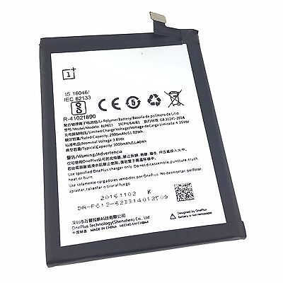 NEW OnePlus 3 Replacement Battery Model: BLP613 R-41021890 3000mAh