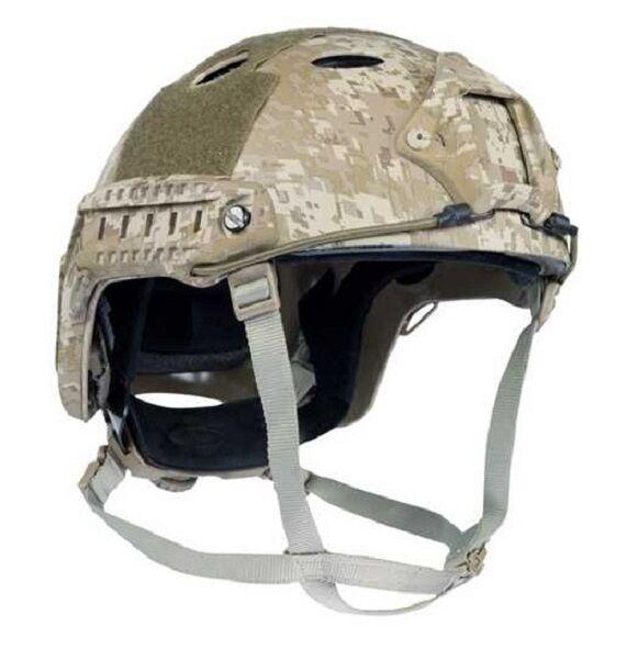 Us casco casi pj Army Helmet w. Rails Navy SEALs  Desert Digital casco de entrenamiento  ¡no ser extrañado!