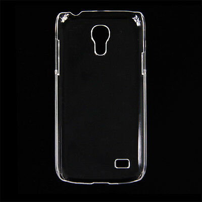 Clear Snap on Hard Back Case Cover Skin for Samsung Galaxy S4 Mini i9190 i9195