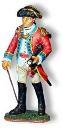 KING & COUNTRY BRITISH REVOLUTIONARY BR017 OFFICER WITH TELESCOPE MIB