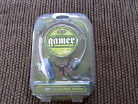 Sentry Gamer Xbox 360 Compatible Headset Volume Control Xb200 Free Shipping